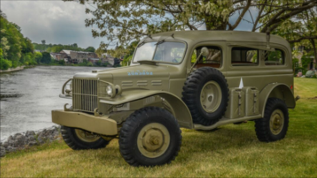 1942 Dodge Wc 53 Carryall Army Military For Sale