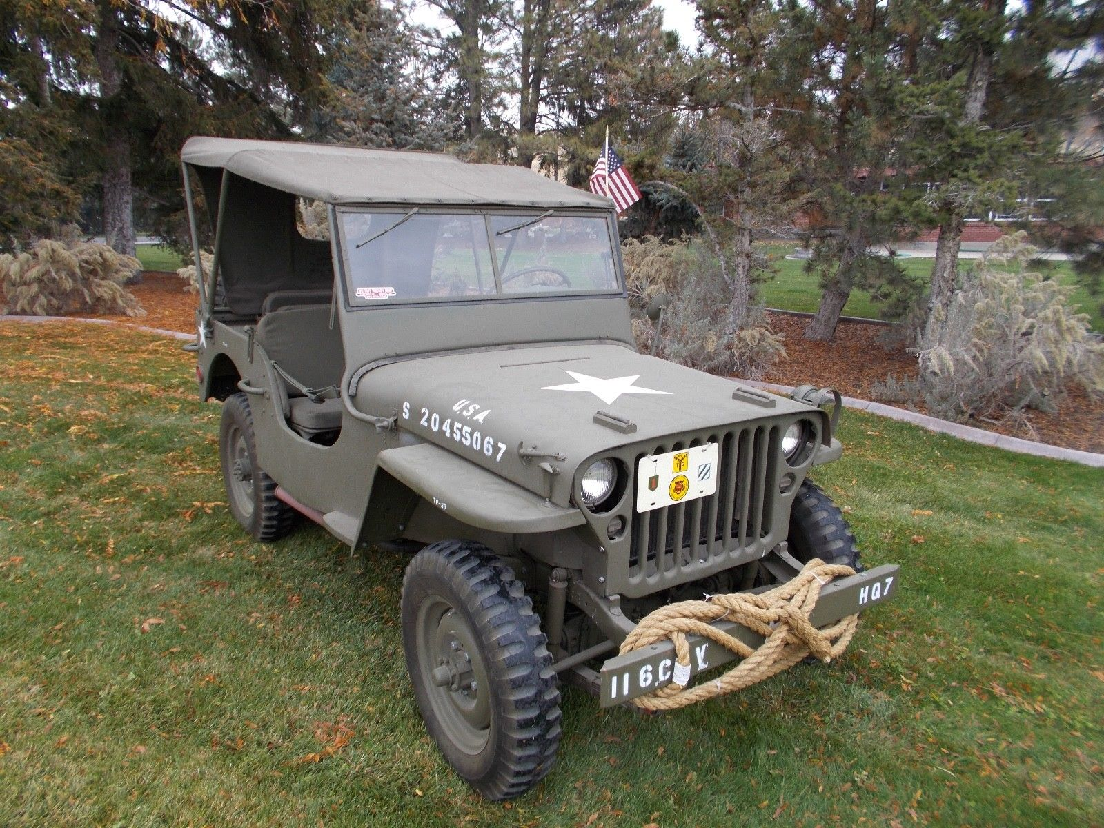 Wiring A Willys Jeep Smart Diagrams Harness 1942 Mb For Sale Truck
