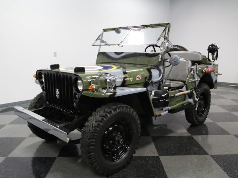1945 RAF Jeep Willys MB Military Jeep for sale