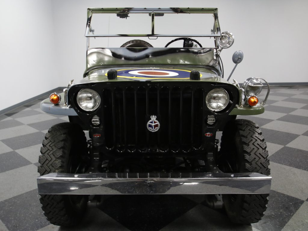 Jeep mb jeep : 1945 RAF Jeep Willys MB Military Jeep for sale