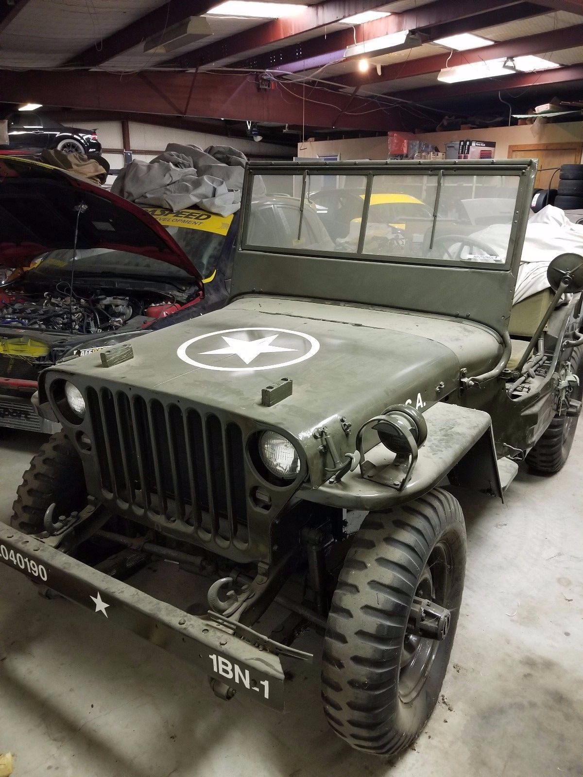 1946 Willys Steve McQueen Jeep for sale