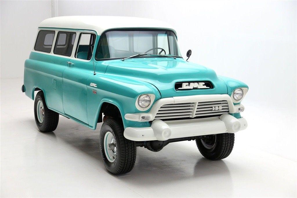 1957 Gmc Suburban Napco 4 Wheel Drive For Sale