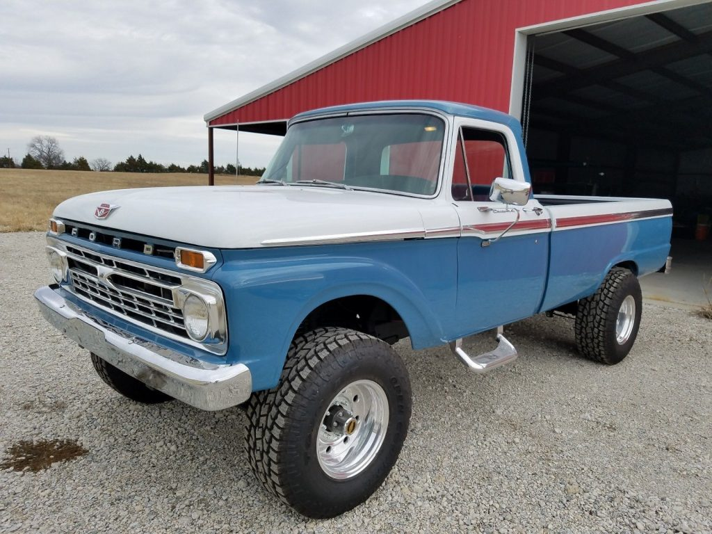 1966 Ford F 250 Camper Special For Sale