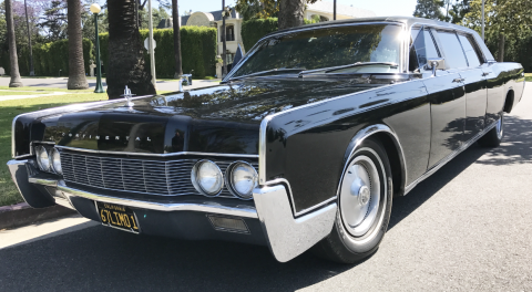 1967 Lincoln Continental Lehmann Peterson Limousine for sale