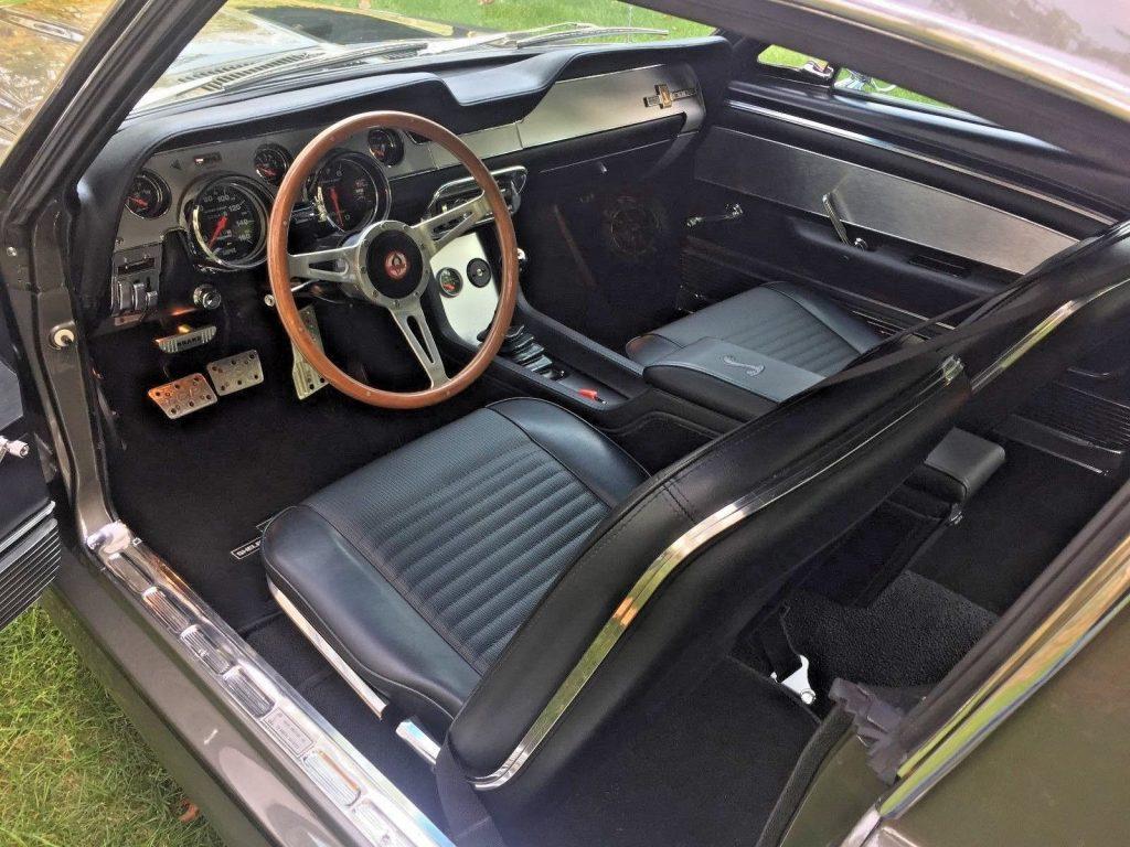 1968 Ford Mustang Fastback Gt500e Eleanor 428 Cobra Jet