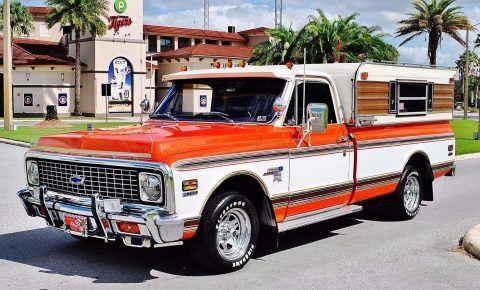 1972 Chevrolet C 10 Custom Pickup Fully Restored Show Truck for sale