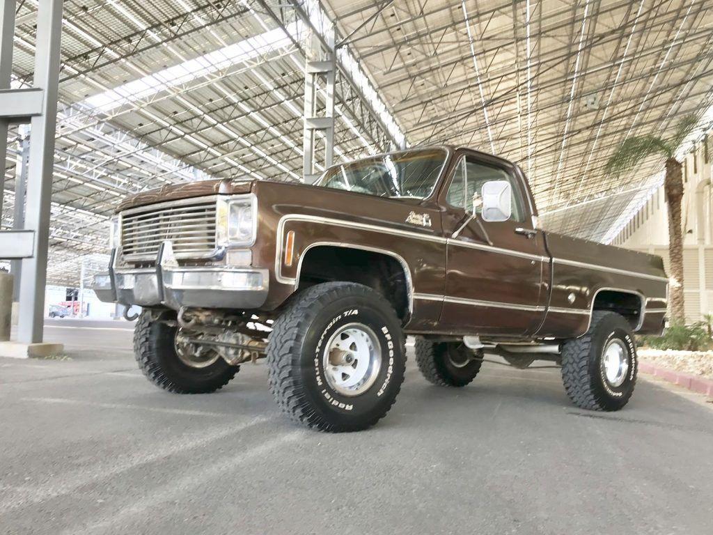 1976 Gmc 4x4 Truck Chevy For Sale Sierra Pickup Short Box Classic 1024x768