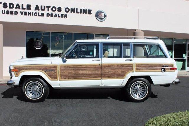 1988 Jeep Wagoneer Limited 4X4