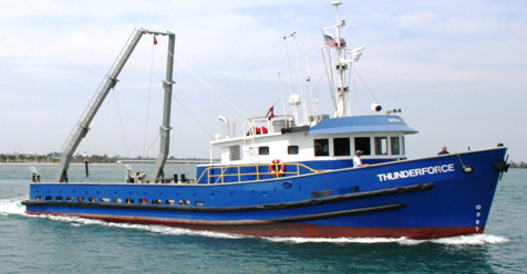 1979 76′ Steel Hulled Research / utility Vessel for sale