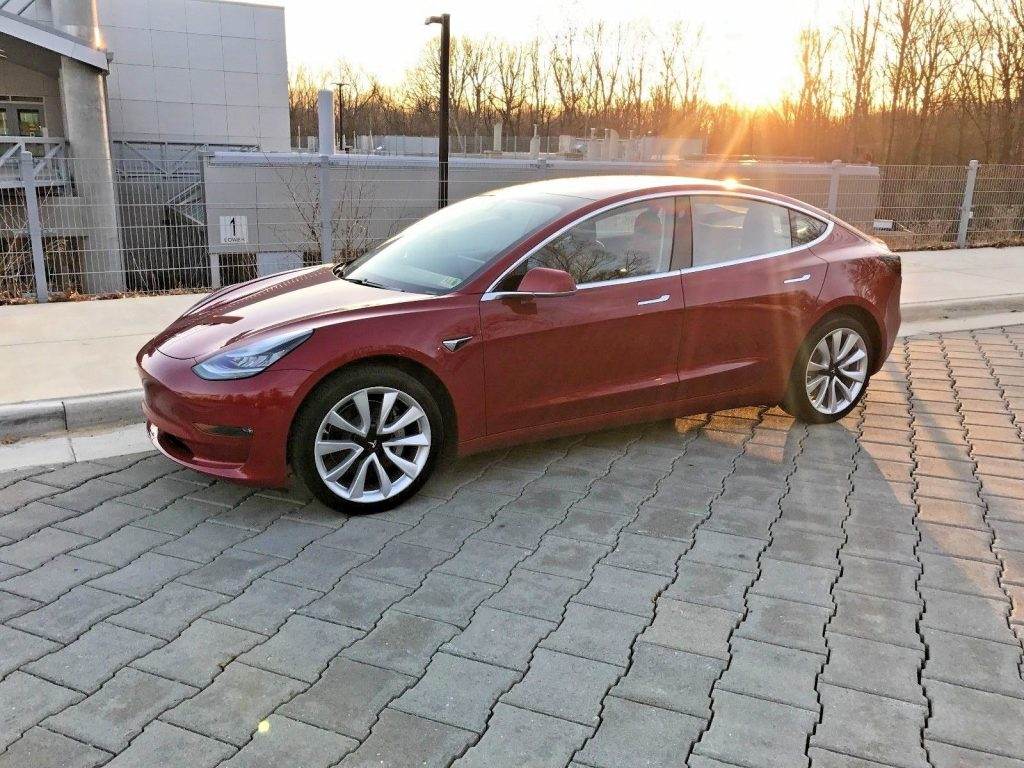 2018 Tesla Model 3 Premium Long Range for sale