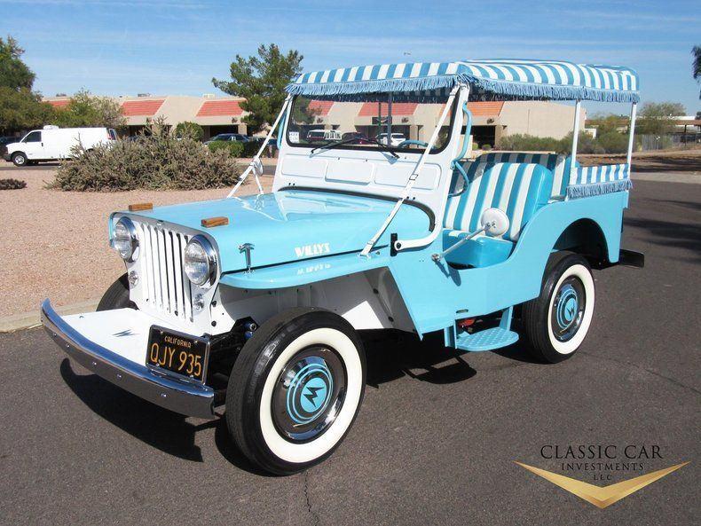 1960 Willys Jeep Surrey Gala