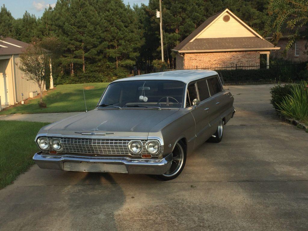 1963 Chevrolet Bel Air  150  210 Belair Wagon For Sale