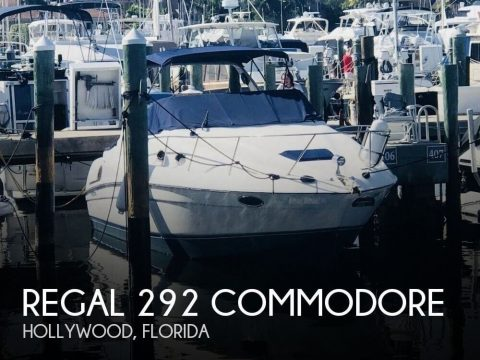 1996 Regal 292 Commodore for sale
