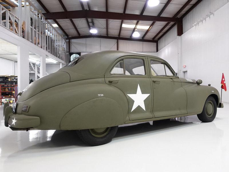 1947 Packard Clipper Custom Super Clipper Eight Army Staff Car