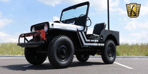 1950 Willys Jeep CJ3A for sale