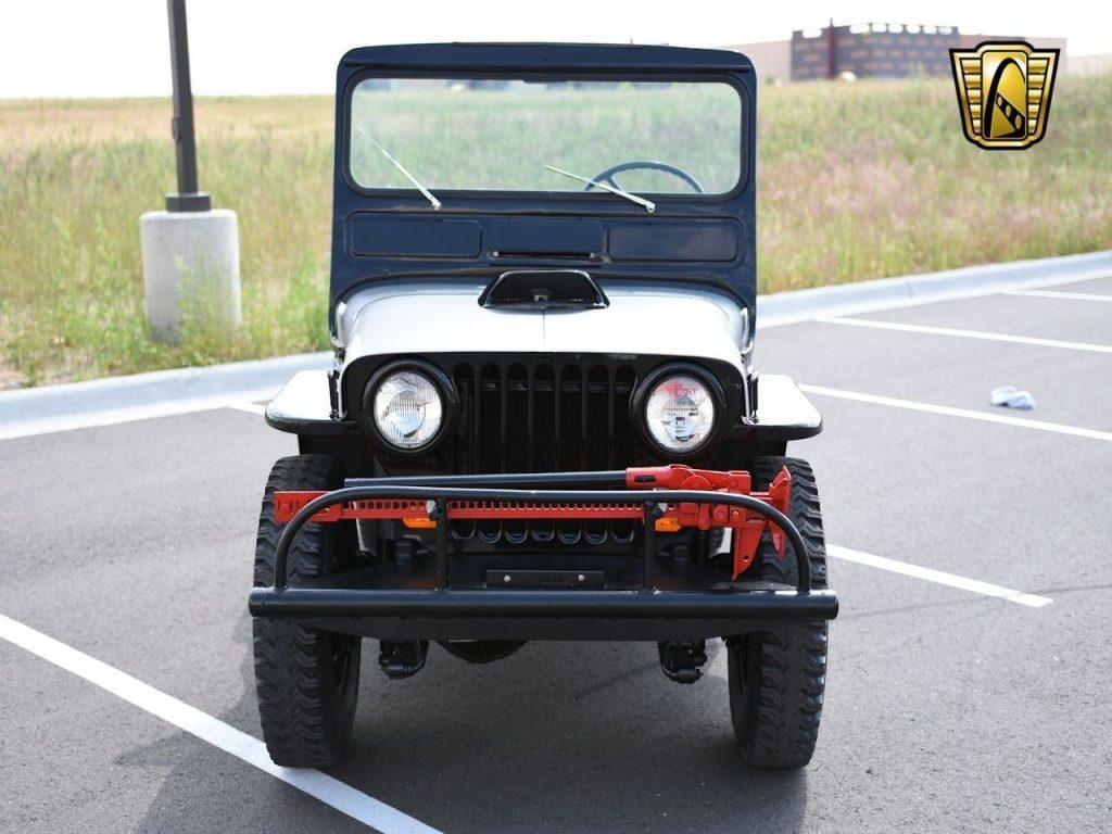 1950 Willys Jeep CJ3A