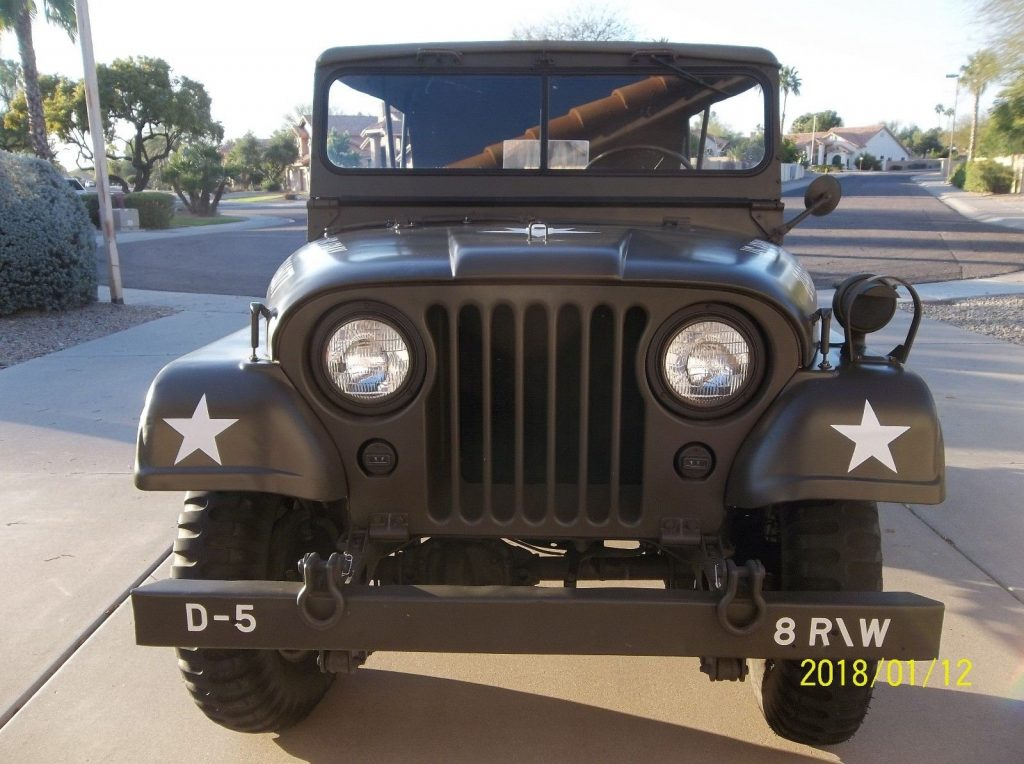 Military Jeep For Sale >> 1952 Willys M38a1 Military Jeep For Sale