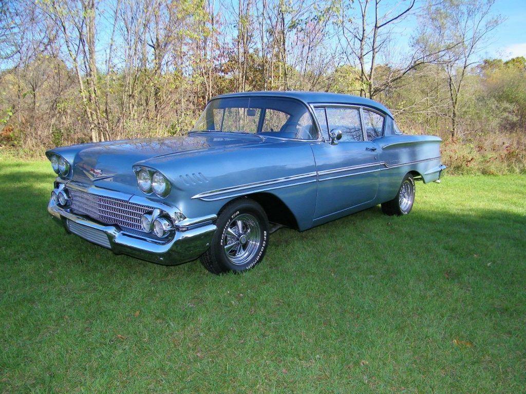 1958 chevy 2 door