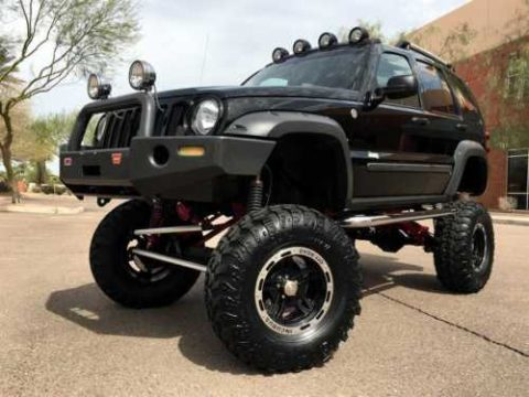 2005 Jeep Wrangler Liberty Renegade 4X4 $50k Custom! ONLY 6k MILES! for sale