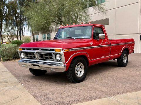 1977 Ford F 150 XLT Ranger Classic Pickup Truck for sale
