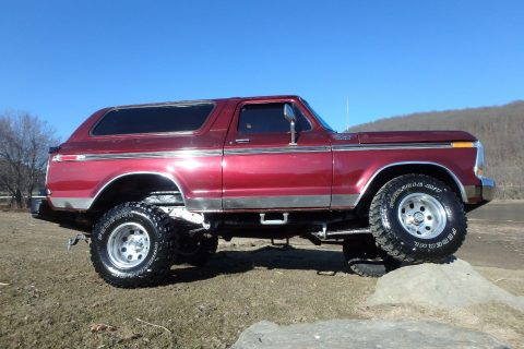 1979 Ford Bronco Custom for sale