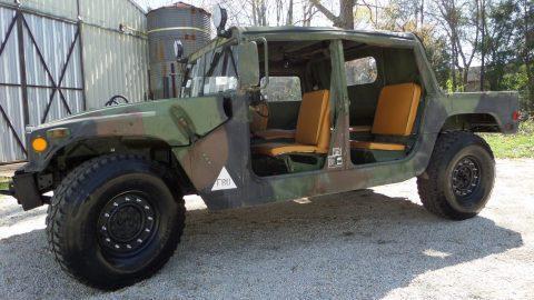 1991 AM General Military Humvee 4 DOOR SOFT TOP for sale
