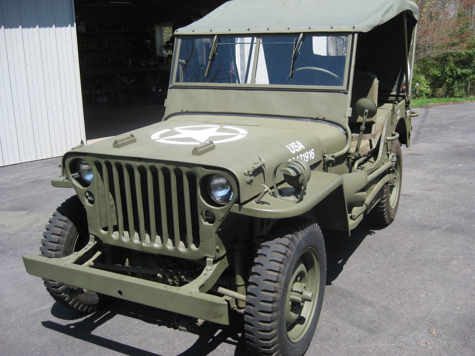 1943 Jeep Willys Mb Wwii Military For Sale