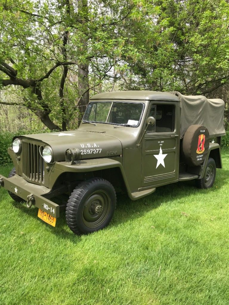 1948 Jeep Willys Truck Military For Sale