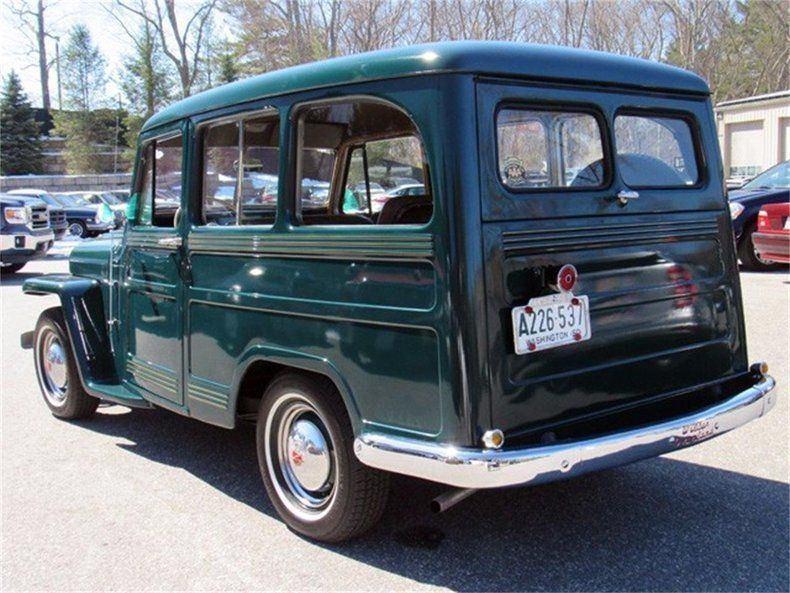 1950 Willys Jeep Wagon