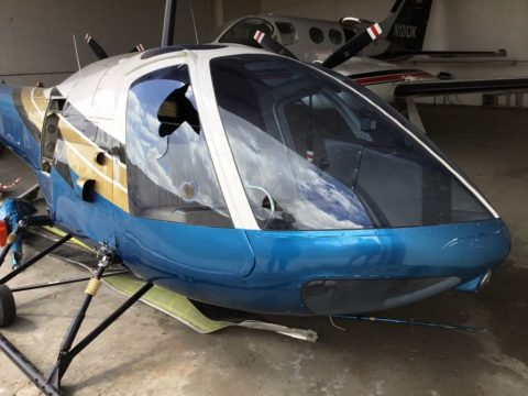1977 Enstrom 280C Helicopter Project for sale