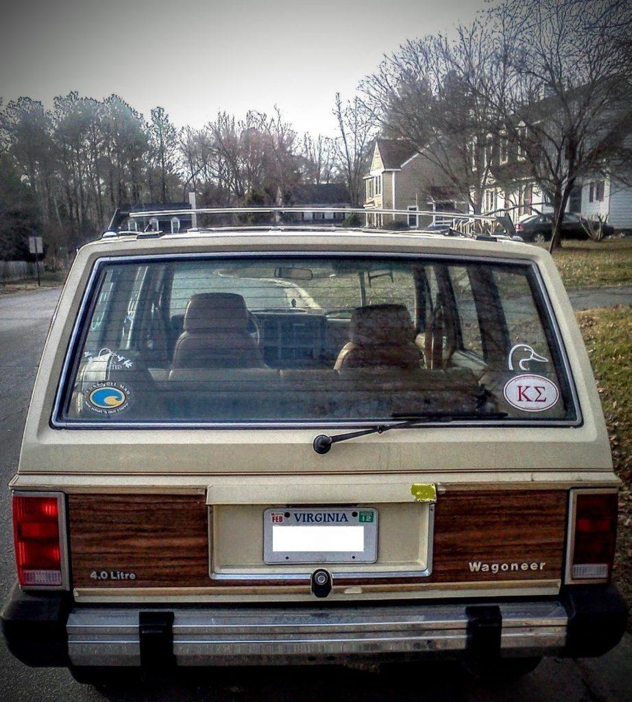 1987 Jeep Wagoneer LTD