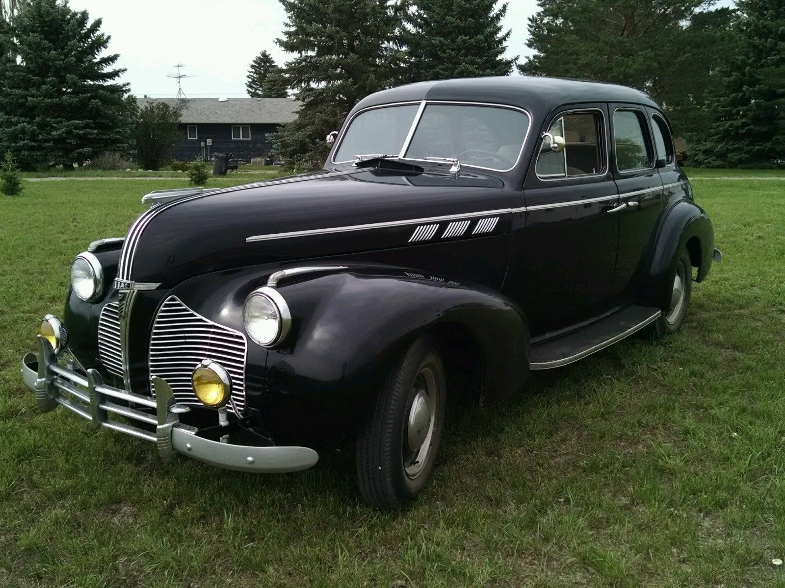 1940 Pontiac Deluxe 6 Silver Streak New For Sale