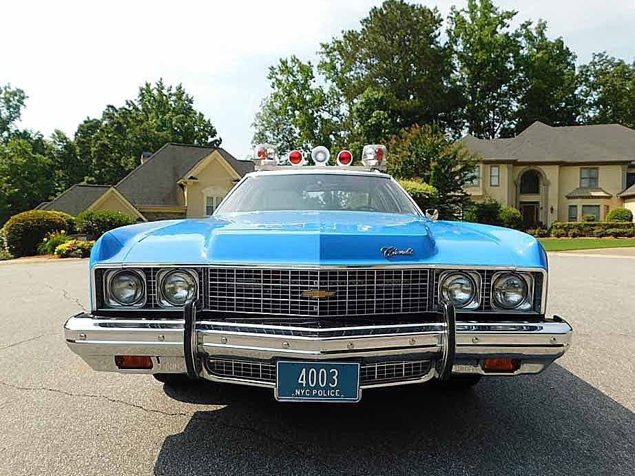 1973 Chevrolet Bel Air NYPD Police CAR