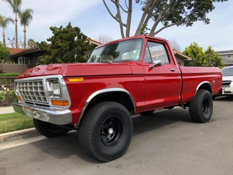 1973 Ford F100 4×4 Short Bed Classic Truck for sale