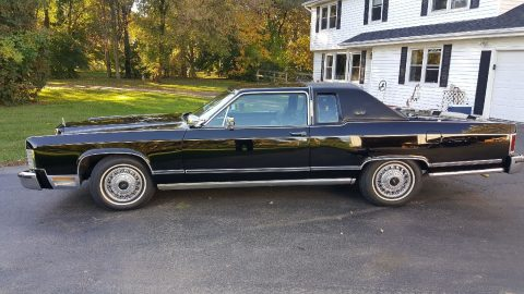 1979 Lincoln Continental Town Coupe for sale