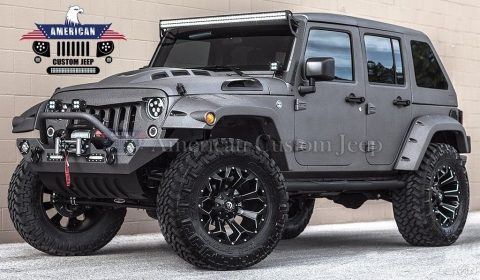2018 Jeep Wrangler Custom Unlimited Sport Utility 4 Door for sale
