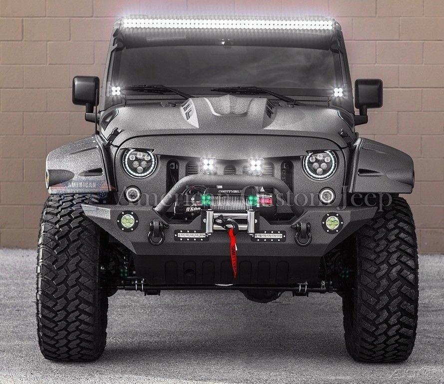 For Sale 2008 Jeep Wrangler Unlimited 4 Door: 2018 Jeep Wrangler Custom Unlimited Sport Utility 4 Door