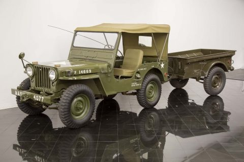 1952 Willys Model 38 Truck Jeep M38 4×4 for sale