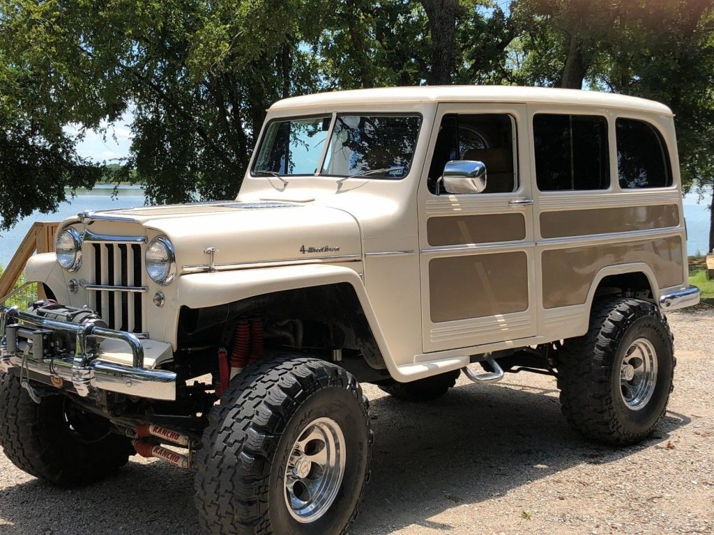 1956 jeep willys wagon for sale