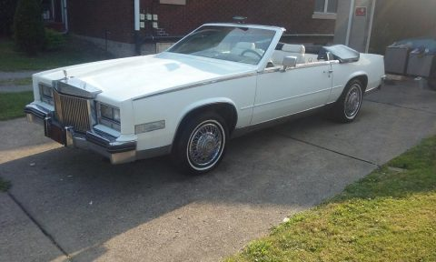 1985 Cadillac Eldorado Biarritz convertible for sale