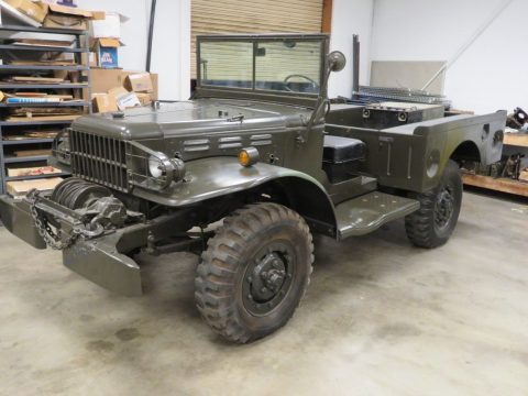 1945 Dodge WC52 WWII Weapons Carrier MILITARY for sale