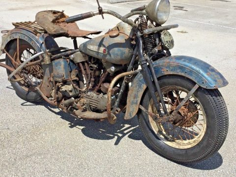 1947 Harley Davidson FL Knucklehead for sale