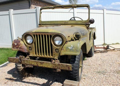 1953 M38A1 Military Army Jeep Willys for sale