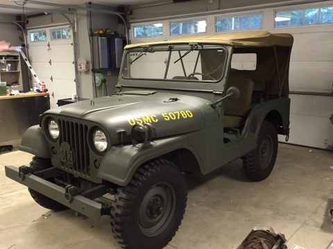 1954  Jeep M38A1 military for sale