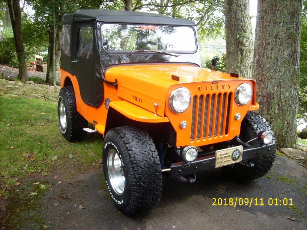 1962 Jeep Willys Cj3b For Sale 1950 Cj 3a