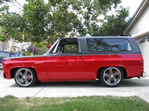 1973 Chevrolet Blazer cheyenne for sale