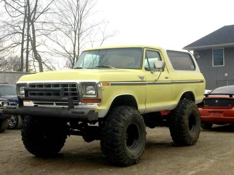 1979 Ford Bronco XLT for sale