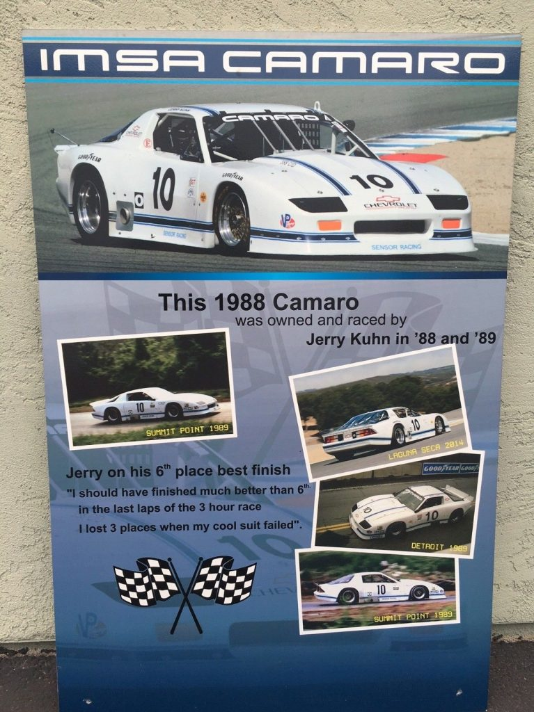 1988 Chevrolet Camaro Z28 With Imsa Gto For Sale