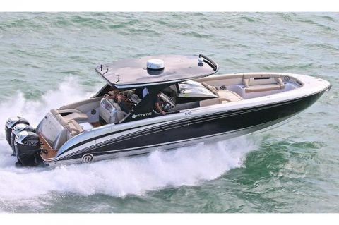 2017 Mystic M4200 Powerboat for sale