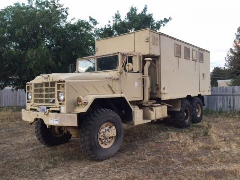 BMY Harsco  M934A2 5 Ton 6×6 Military Command Center Truck for sale